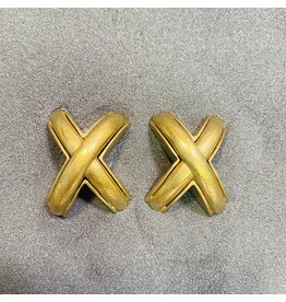 Vaubel X Gold Clip Earring