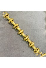 Vaubel Gold 4 Link w/ Spheres Bracelet
