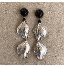 Angela Caputi Sea 2 Fish Clip Earring
