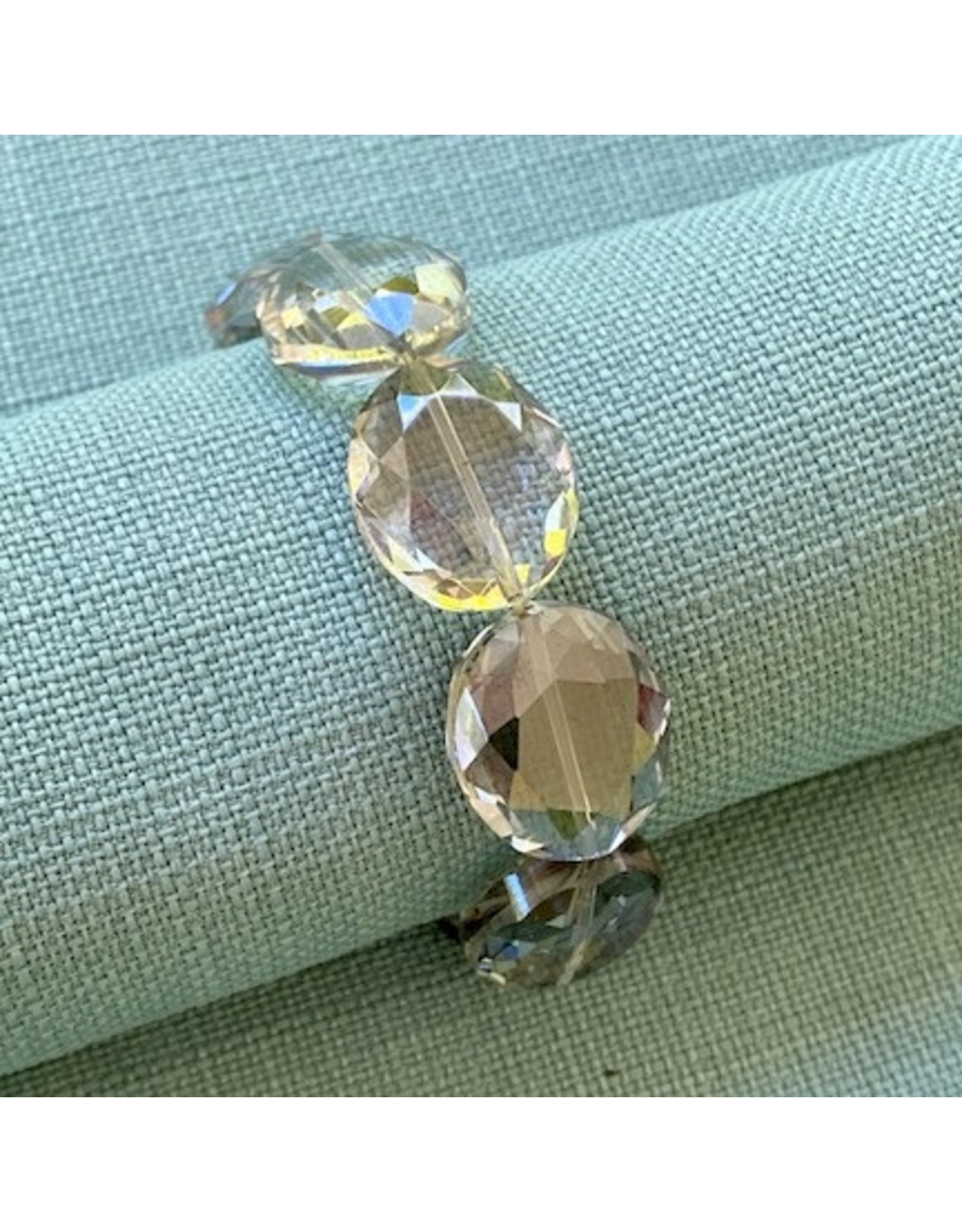Deborah Grivas Design gri/db185/lstrech/bracelet