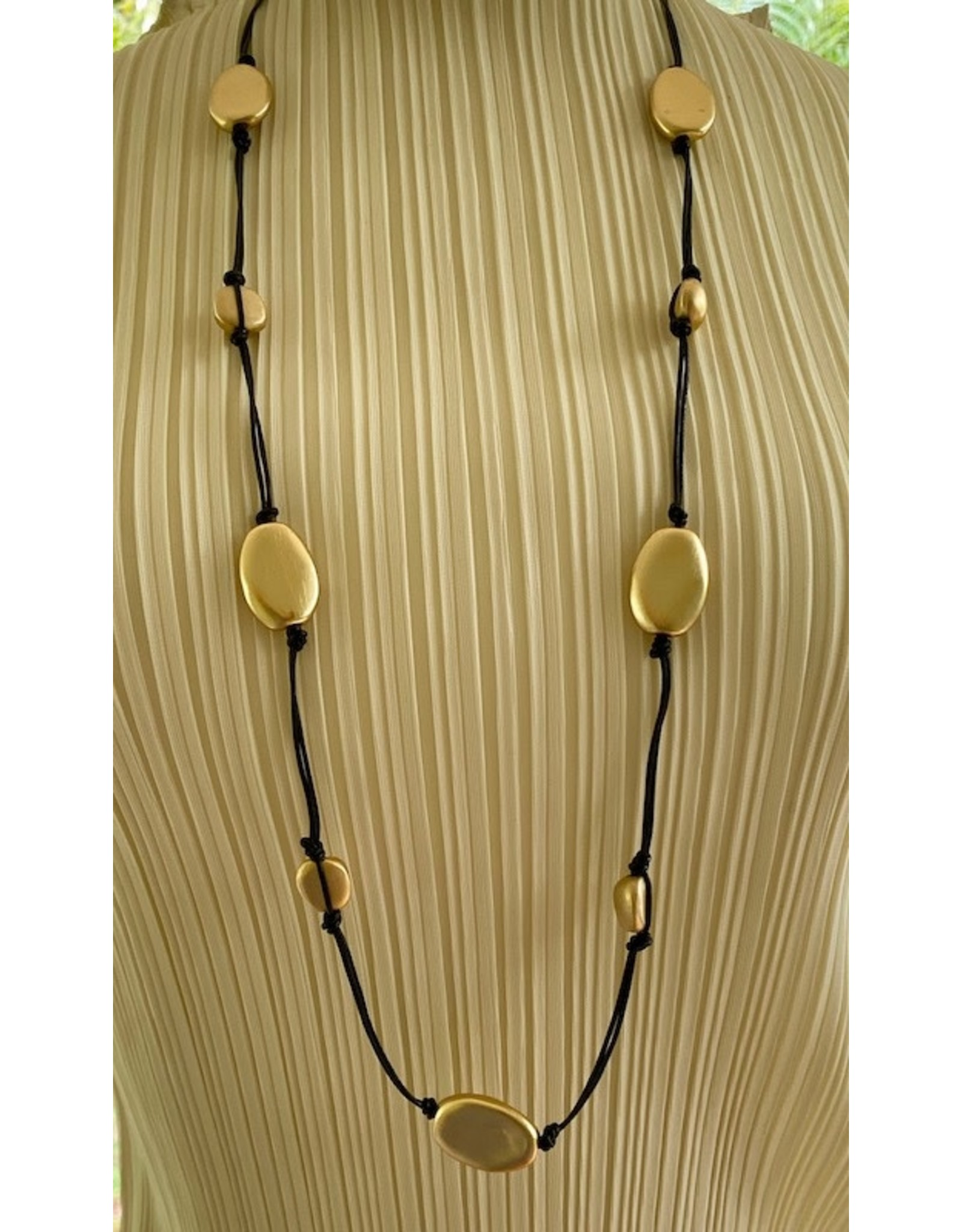 Deborah Grivas Design gri/dn872-matte/matte/gold/cast/bead/black/leather/layer