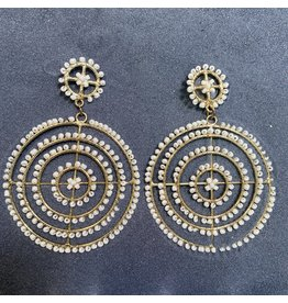 "Kenneth Jay Lane 3"" Beads Drop Pierced Earrings"