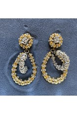Francoise Montague Lolita PM w/ Crystal Hoops