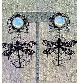 Jean Louis Blinn blin/7356/gold/black/dragonfly/