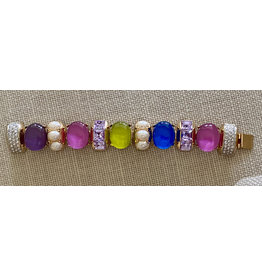 VC Italy Multi colored Bracelet Ovals
