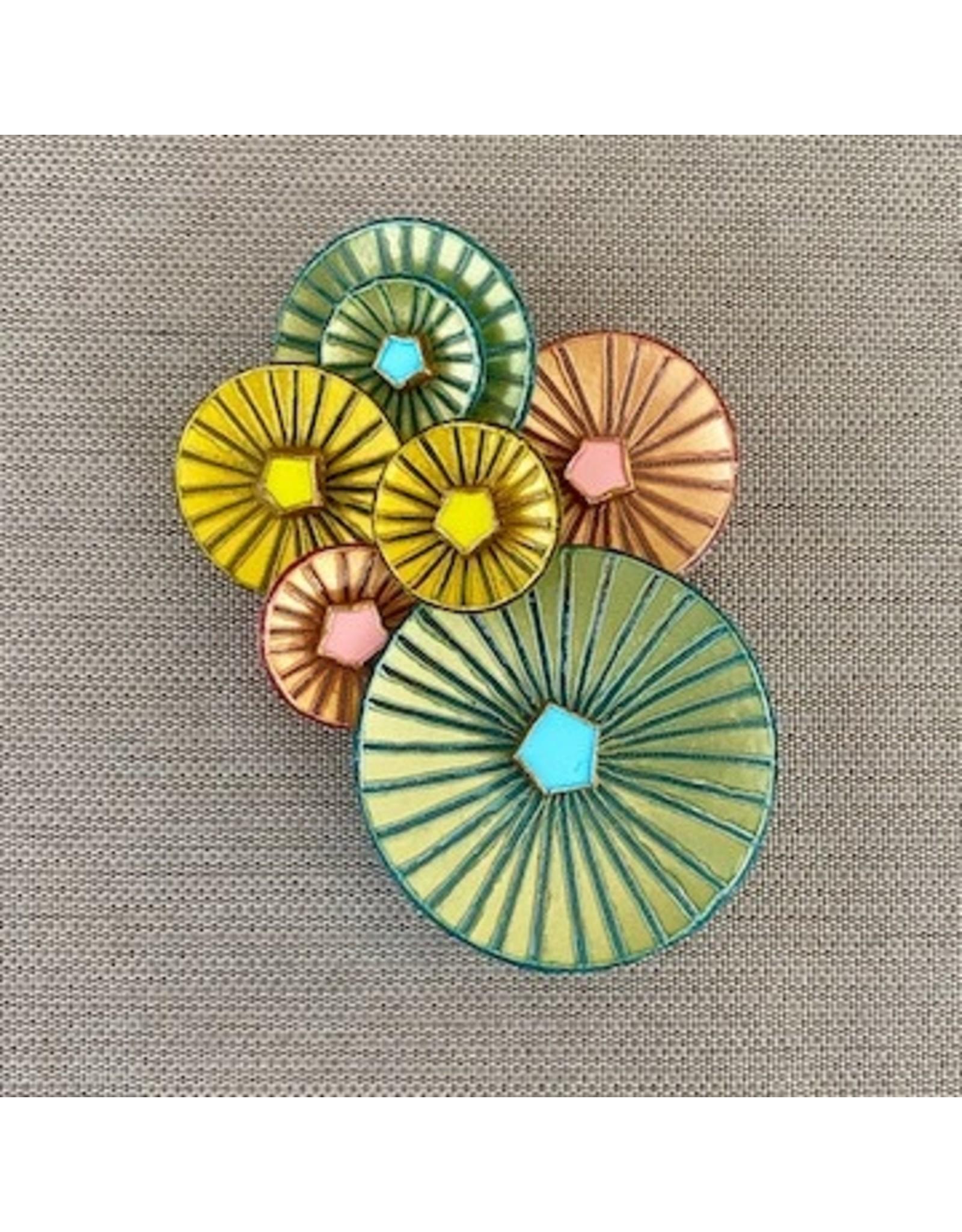 Francoise Montague frm/kyoto/pastels/circles/