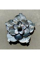 Detra Kay detra/4997P/mthr/prl/gry/trpl/flw/multi petal