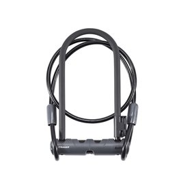 Bontrager Cadenas Elite U-lock avec Cable