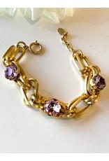 La Vie Parisienne Oval Link Bracelet 1706