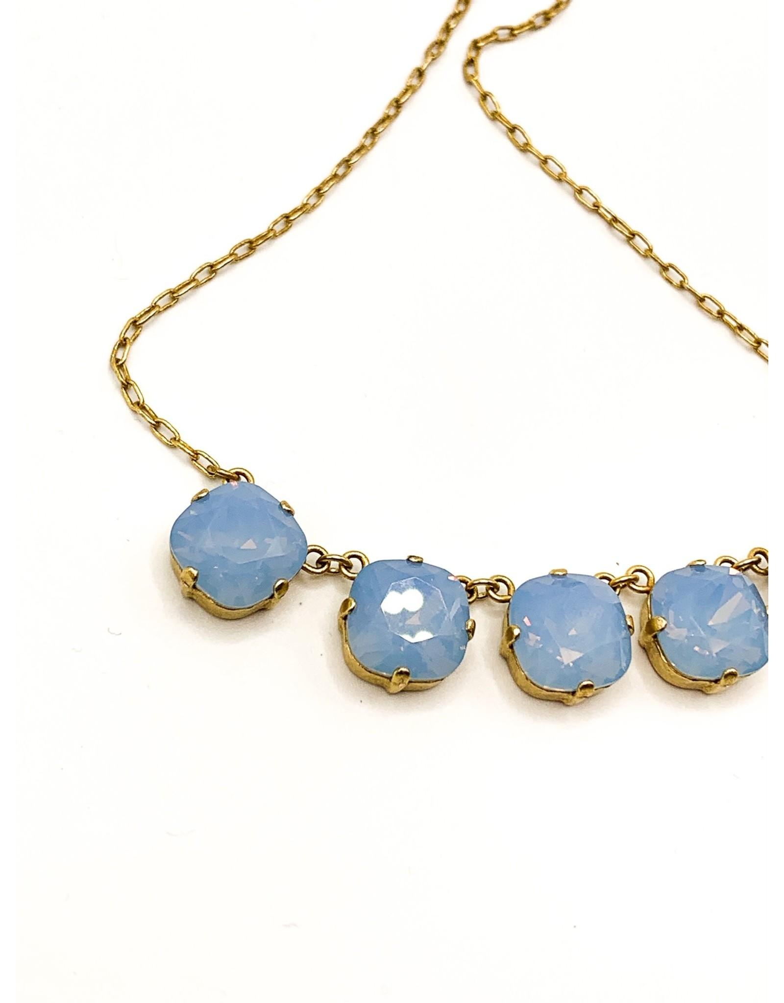 La Vie Parisienne Gold Crystal Necklace