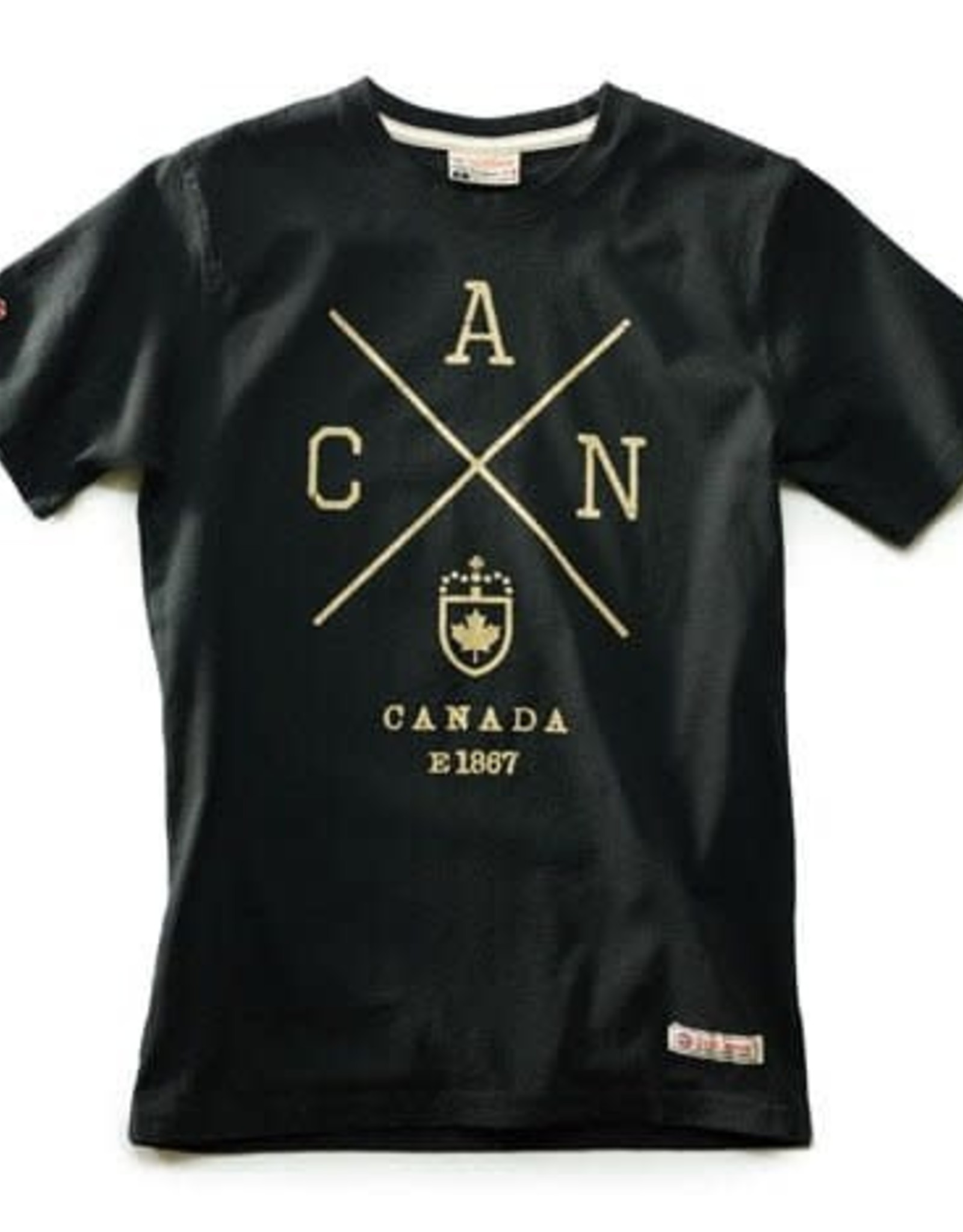 RED CANOE Red Canoe Cross Canada TShirt