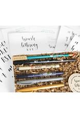 Wildflower Art Studio Brush Lettering Kit