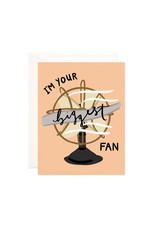 Bloomwolf Studio Bloomwolf - Biggest Fan Greeting Card
