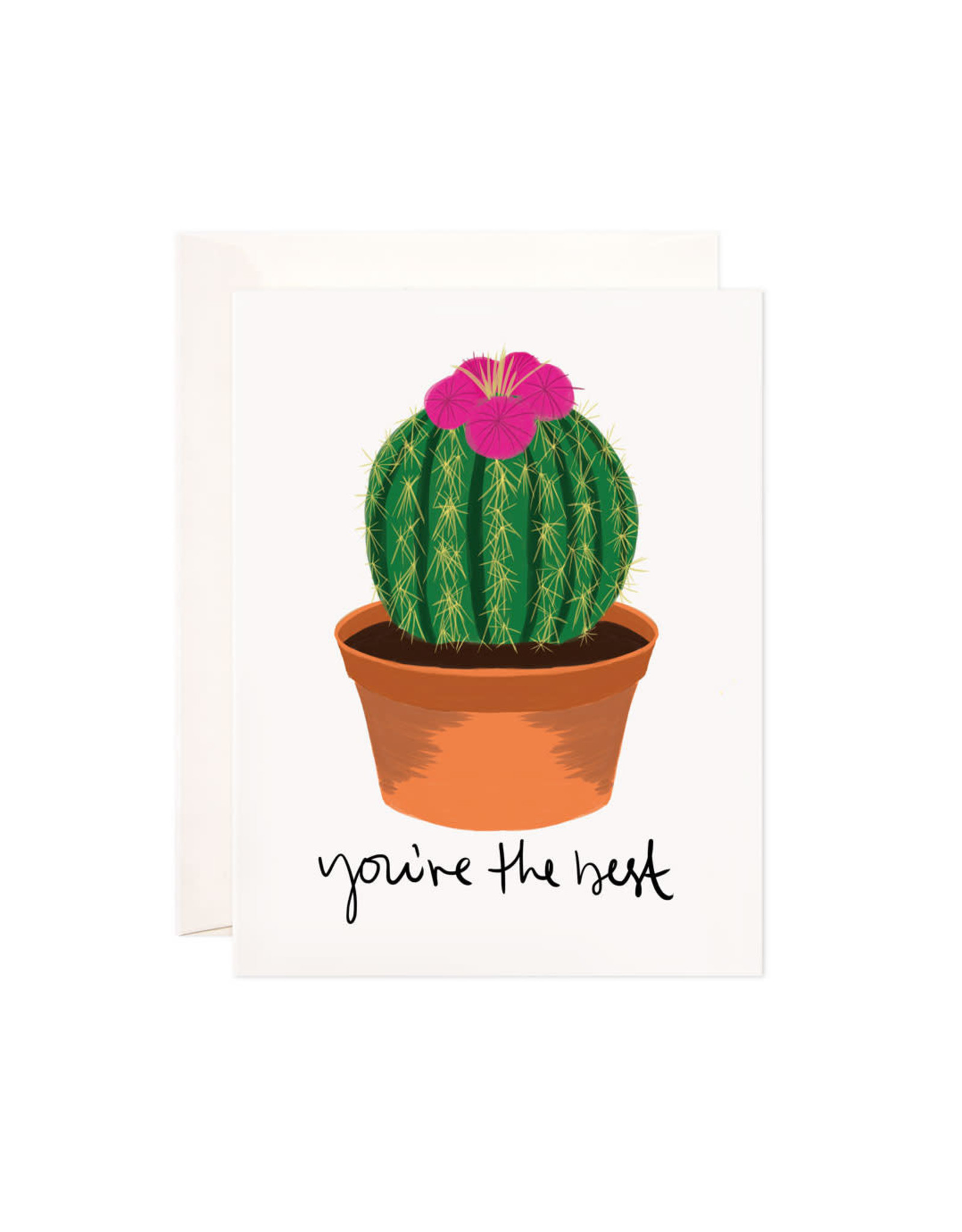 Bloomwolf Studio Bloomwolf - You're The Best Greeting Card