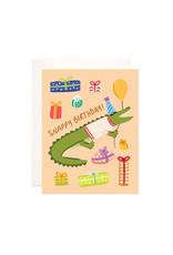 Bloomwolf Studio Bloomwolf - Snappy Birthday Greeting Card