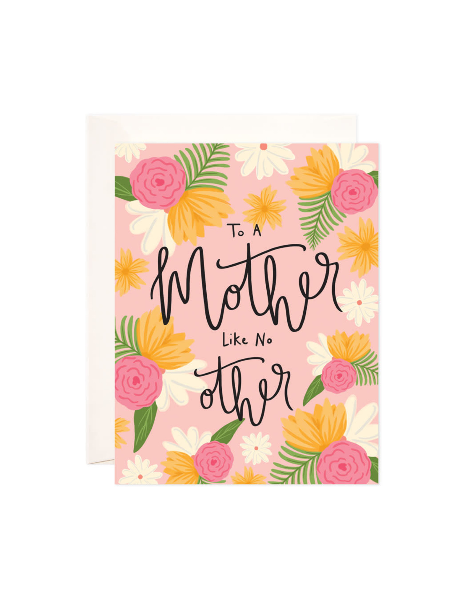 Bloomwolf Studio Bloomwolf - Mother Like No Other Greeting Card