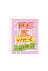 Bloomwolf Studio Bloomwolf - Magical Birthday Greeting Card