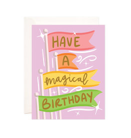 Bloomwolf Studio Bloomwolf - Magical Birthday Greeting Card