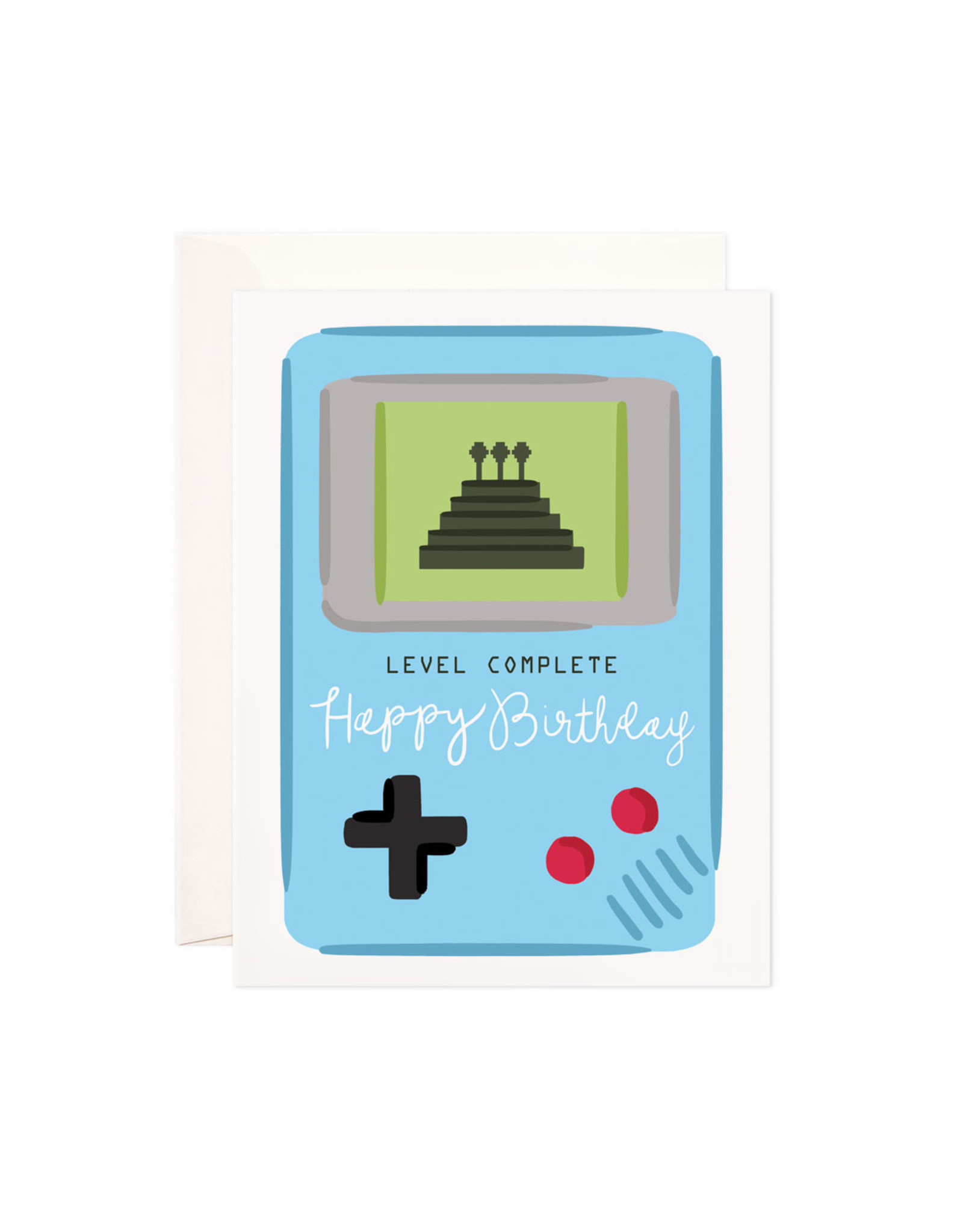 Bloomwolf Studio Bloomwolf - Level Complete Greeting Card