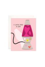Bloomwolf Studio Bloomwolf - Lava You Greeting Card