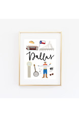 Bloomwolf Studio Bloomwolf - Dallas Art Print 8x10