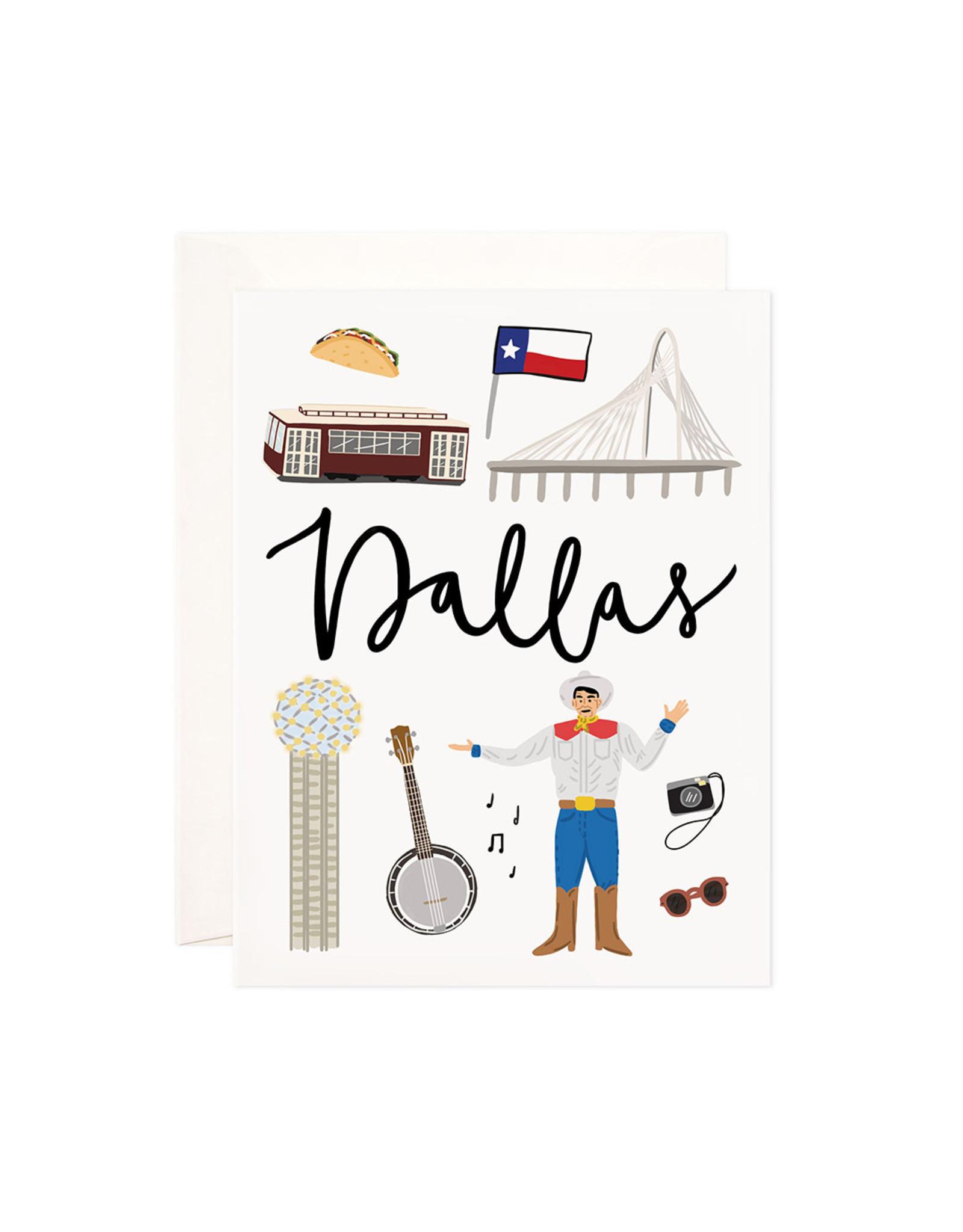 Bloomwolf Studio Bloomwolf - Dallas Greeting Card
