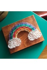 Strung By Shawna Rainbow Mini String Art Kit - DIY
