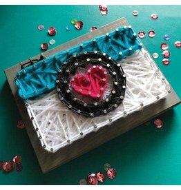 Strung By Shawna Camera Mini String Art Kit - DIY