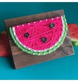 Strung By Shawna Watermelon Mini String Art Kit - DIY