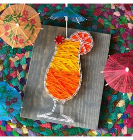 Strung By Shawna Cocktail Mini String Art Kit - DIY