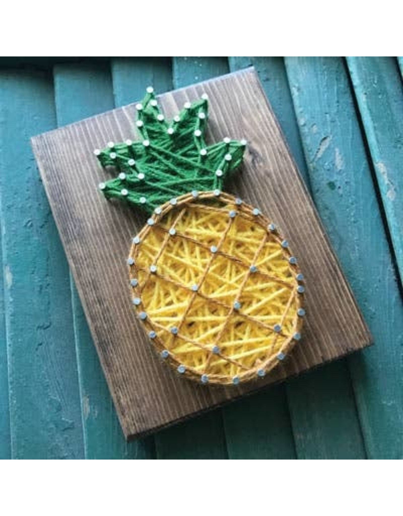 Strung By Shawna Pineapple Mini String Art Kit - DIY
