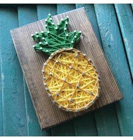 Strung By Shawna Pineapple Mini String Art Kit - DIY