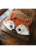 Strung By Shawna Fox Mini String Art Kit - DIY