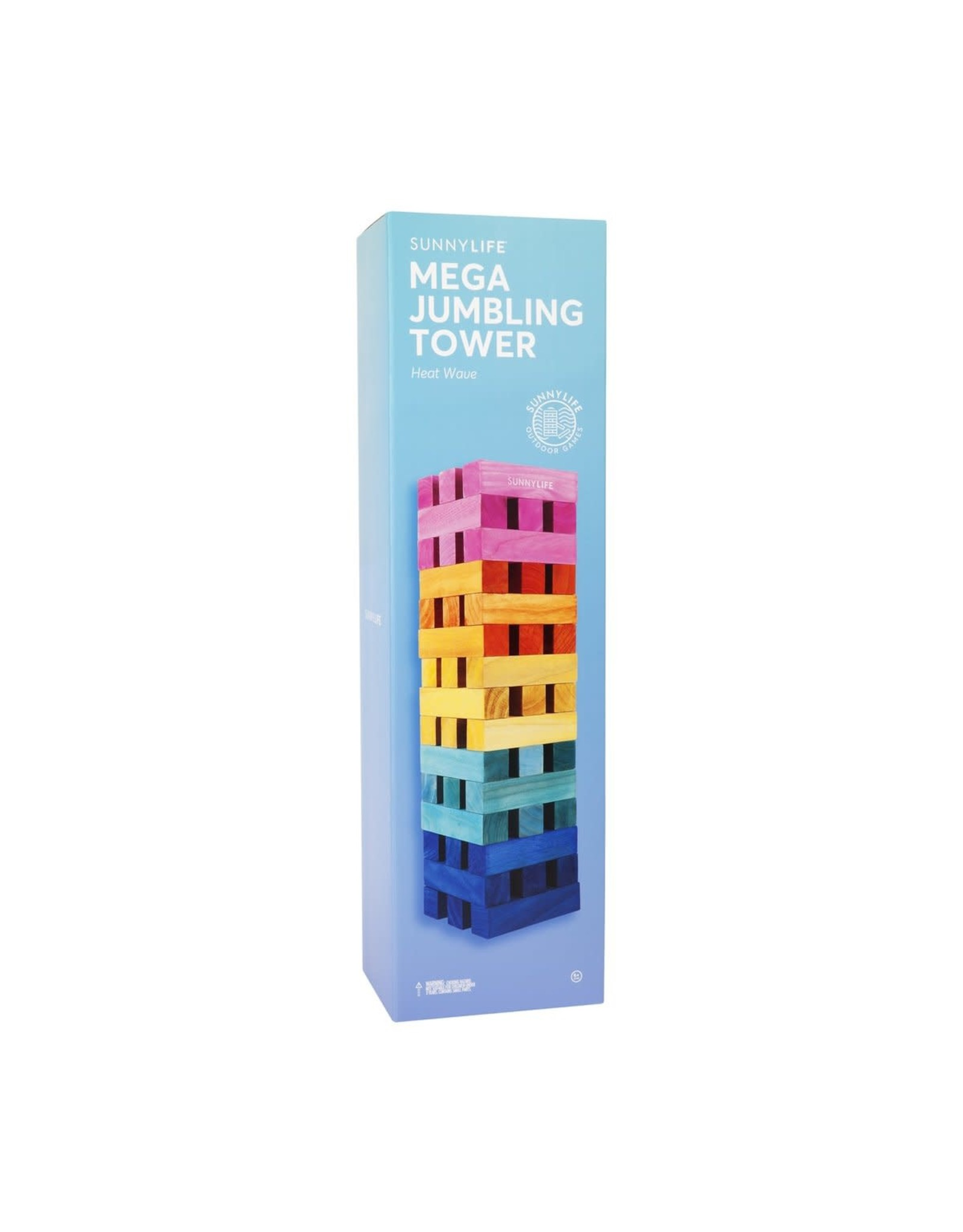 SunnyLife LLC Mega Jumbling Tower Heat Wave