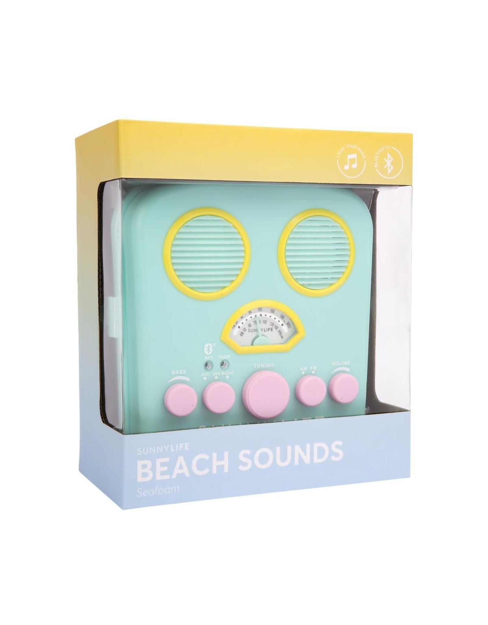 SunnyLife LLC Beach Sounds Seafoam