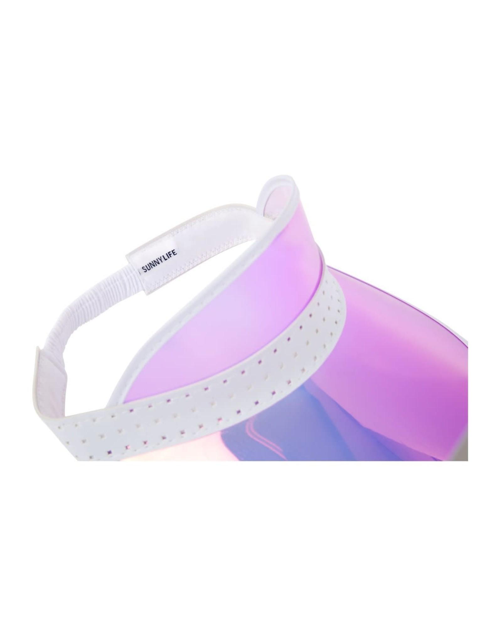 SunnyLife LLC Retro Sun Visor Pink Irridescent