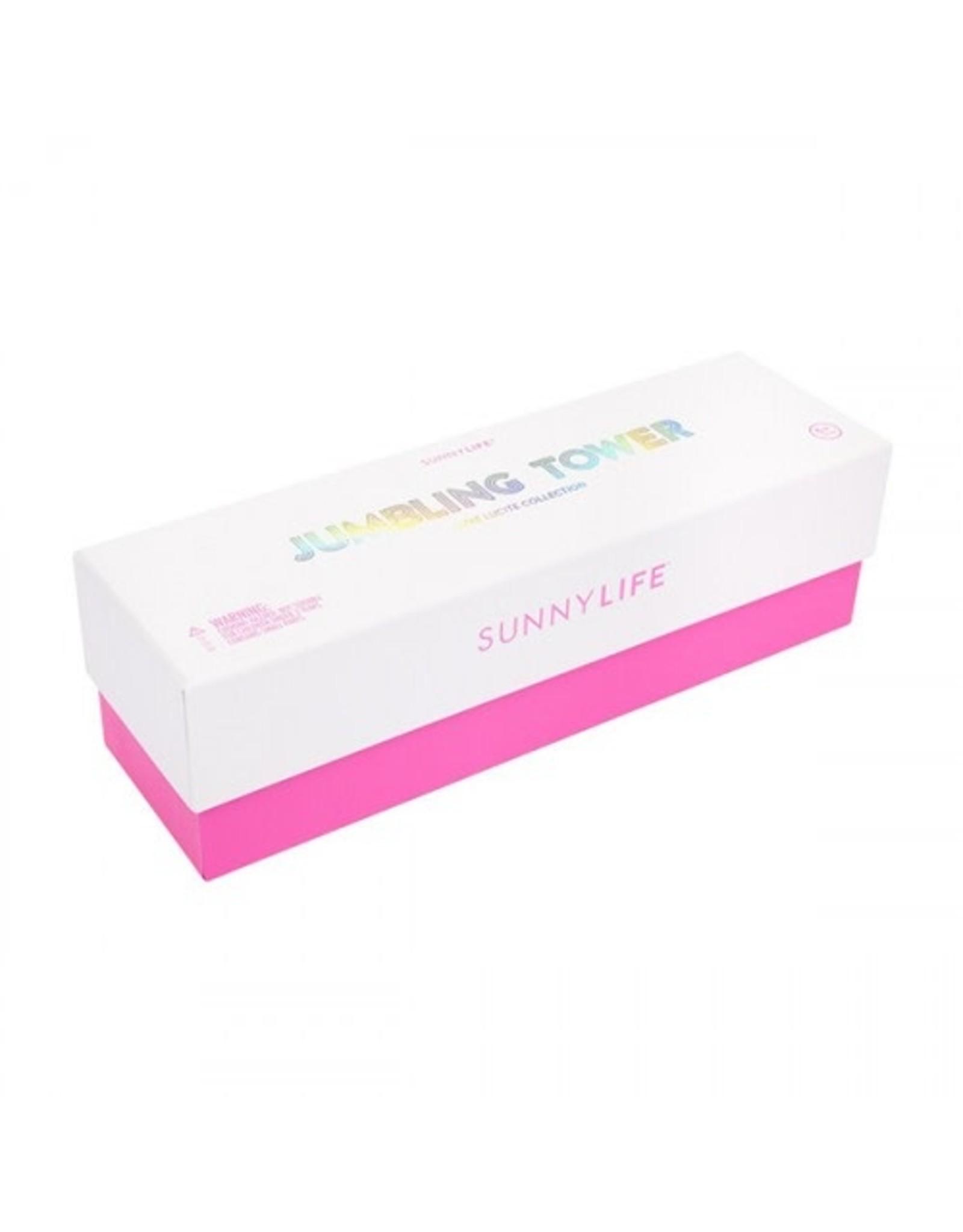 SunnyLife LLC Lucite Jumbling Tower Super Fly
