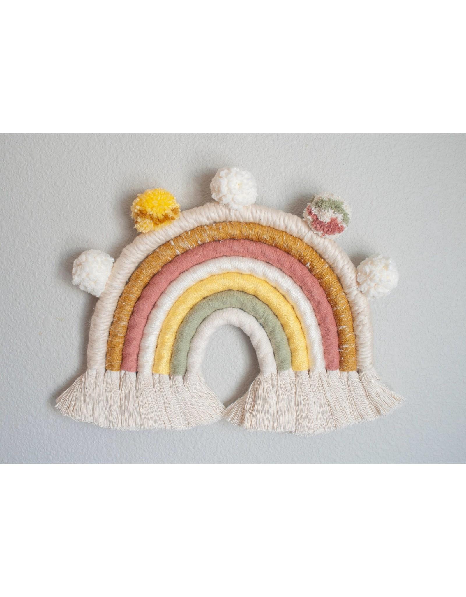 Hello Dear Heart Macrame Rainbow Kits: Pink