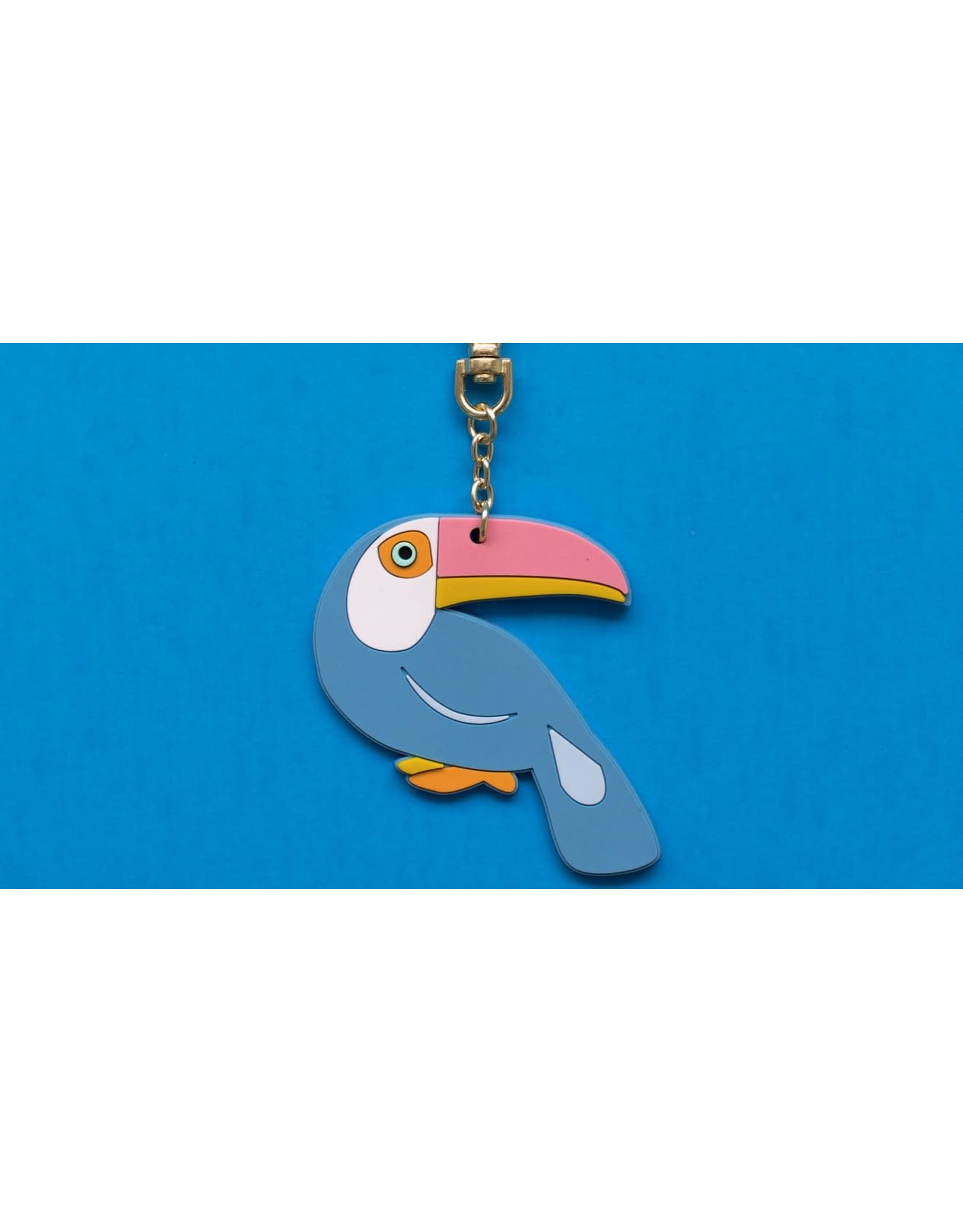 Can't Clutch This Toucan Keychain