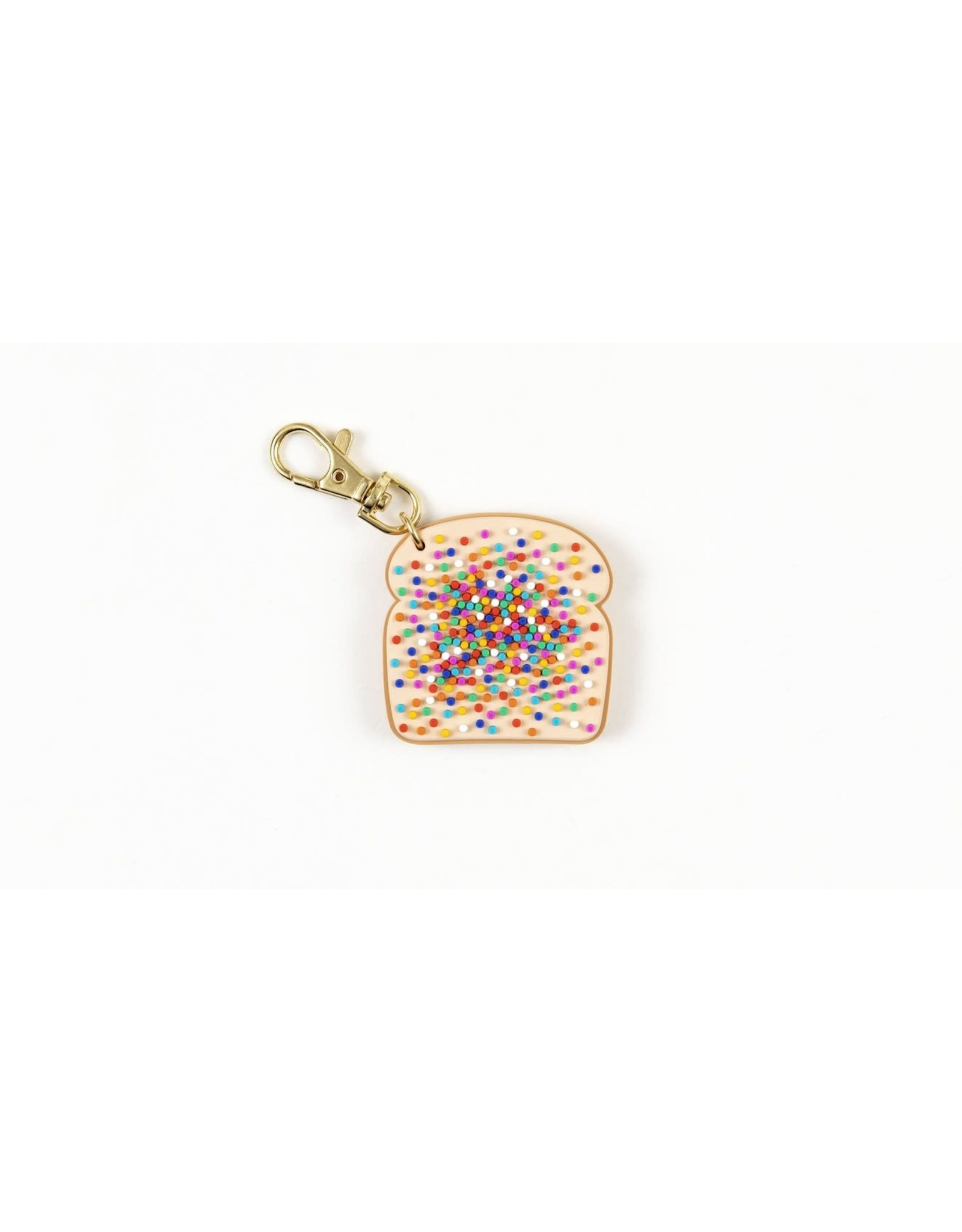 Can't Clutch This Sprinkled Toast Keychain