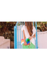 Can't Clutch This Retro Colorful Clutch
