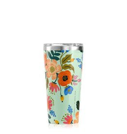 Corkcicle Rifle Paper Tumbler - 16oz Gloss Mint - Lively Flora