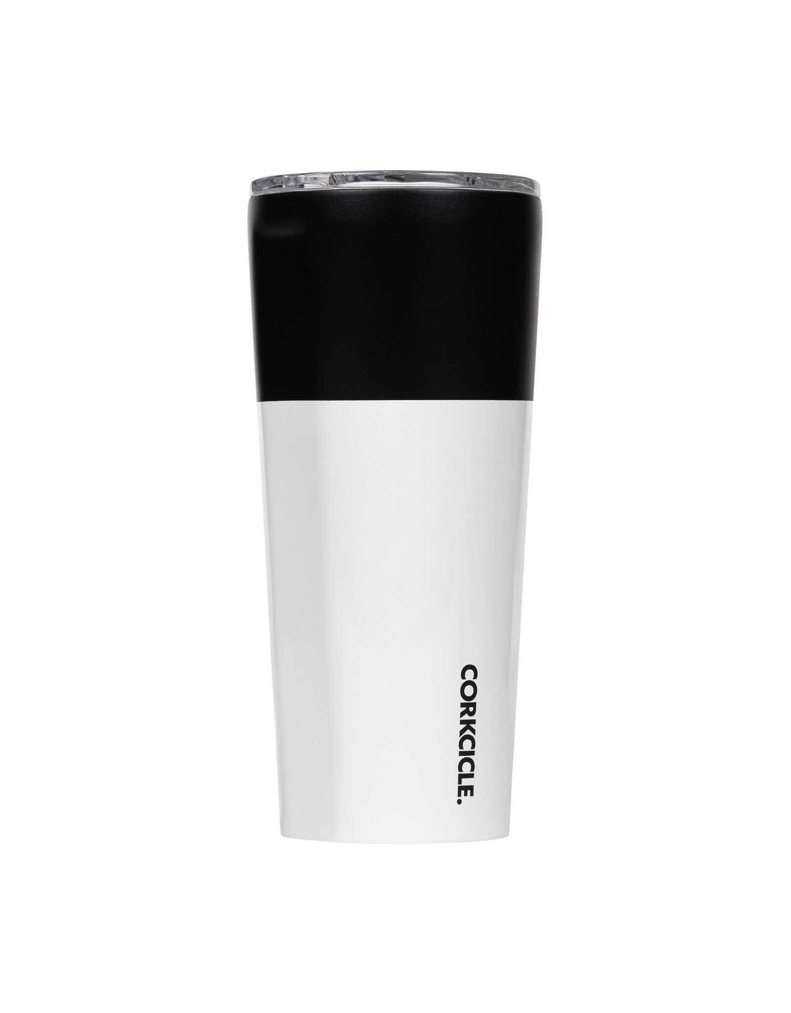 Corkcicle Tumbler - 24oz Color Block -  Modern Black