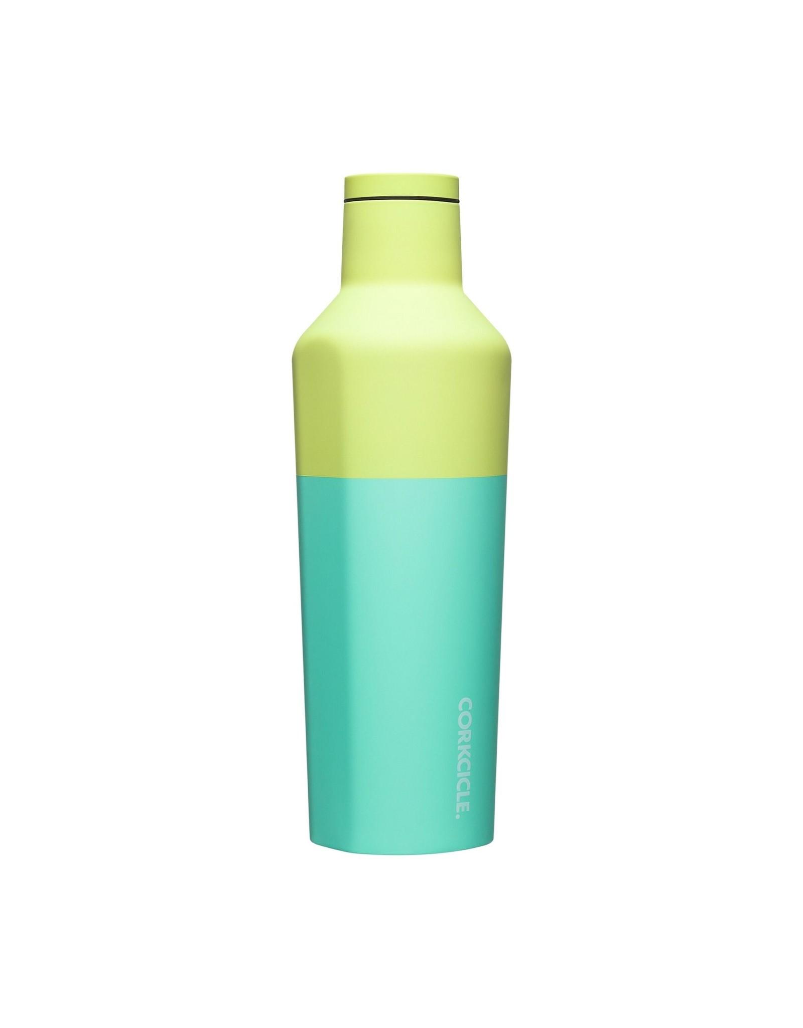 Corkcicle Canteen - 25oz Color Block - Limeade