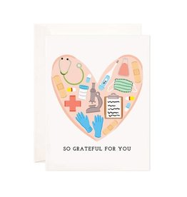 Bloomwolf Studio Bloomwolf - Medical Grateful Greeting Card