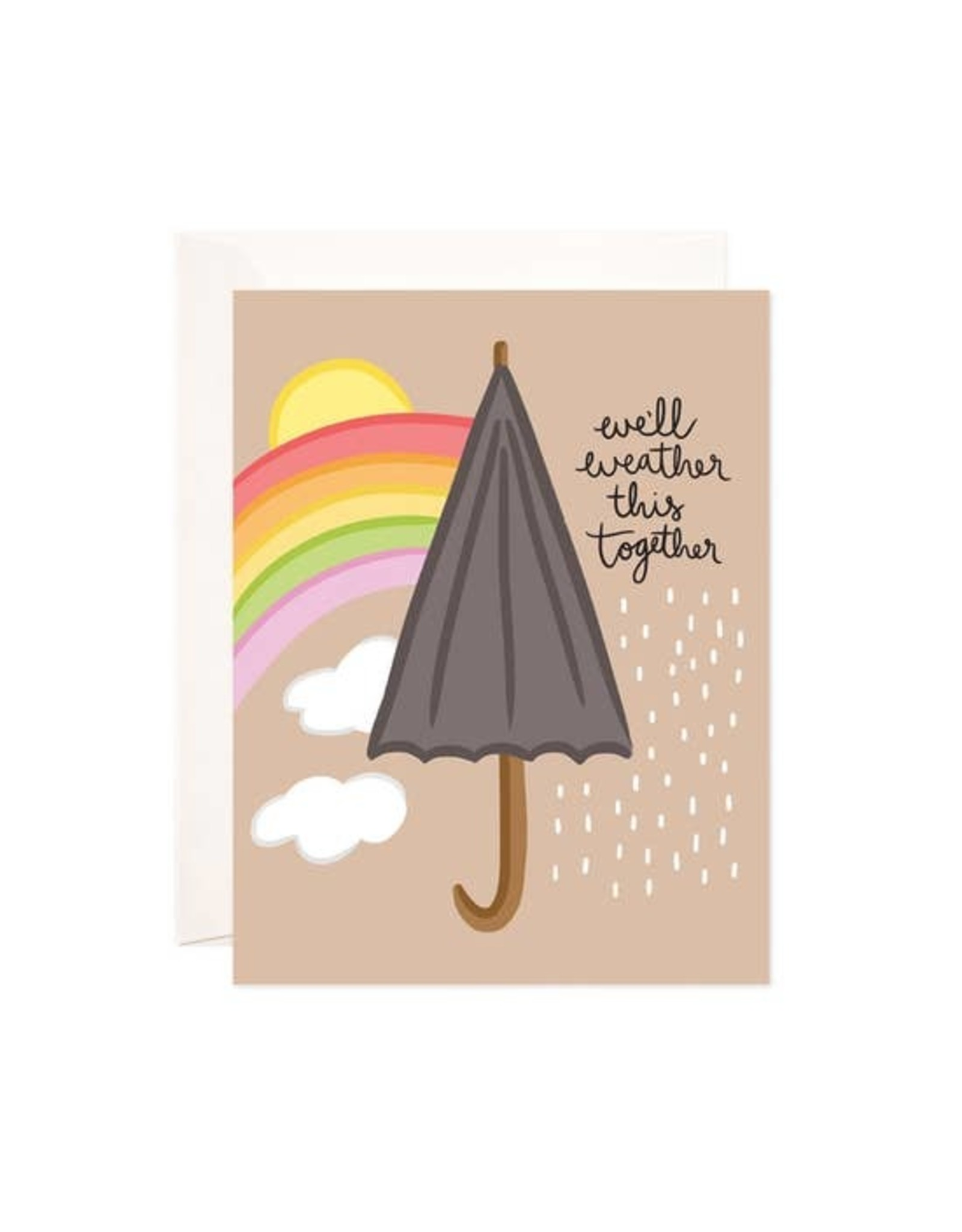 Bloomwolf Studio Bloomwolf - Weather This Together Greeting Card