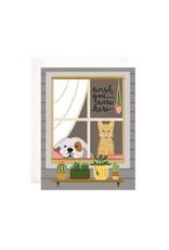 Bloomwolf Studio Bloomwolf - Wish You Were Pets Greeting Card