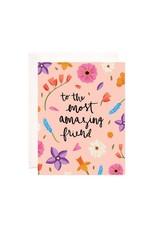 Bloomwolf Studio Bloomwolf - Amazing Friend Greeting Card