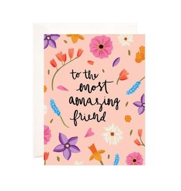 Bloomwolf Studio Bloomwolf - Amazing Friend Greeting Card