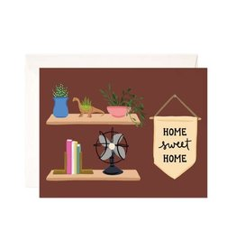 Bloomwolf Studio Bloomwolf - Home Sweet Home Greeting Card